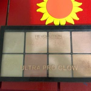 Revolution makeup glow palette